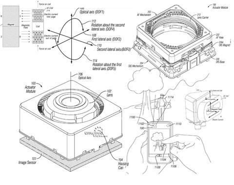 「iPhone6」5.5インチのカメラに光学式手振れ補正搭載確定 —特許&パーツリーク