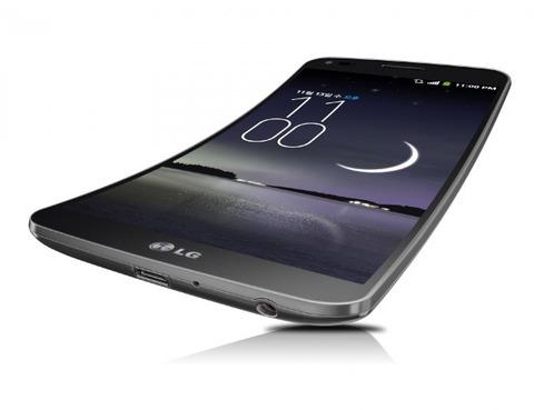 「LG G Flex」、Android 4.4へのアップデートで4K動画サポートへ