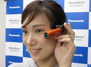 パナソニック、わずか45gのウェアラブルカメラ「HX-A1H」を発売へ -スマホでの操作も可能