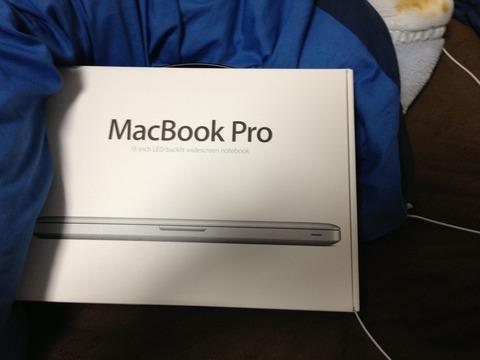 MacBook Pro13インチ買った