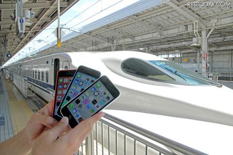 新幹線でのLTE接続比較、前評判通りauのiPhoneに軍配