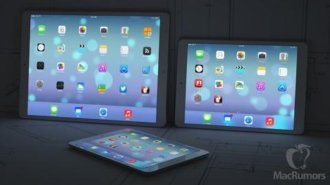 米アップル、12.9インチ大型「iPad」を来年発売へ