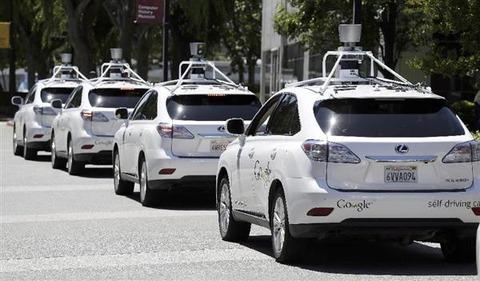 米グーグルの自動運転車に事故11件発覚、これまで「事故やトラブルなし」と隠蔽