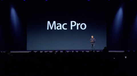 Apple、新しいMac Proを発表 箱型から円筒形になりサイズも1/8に