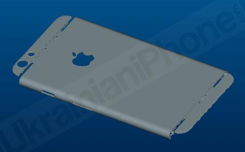 「iPhone6」4.7インチの詳細な筐体設計が判明 —138×67×6mmに