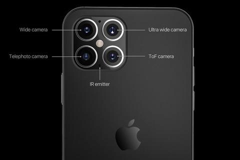 次期「iPhone12」はカメラが4つ?米フォーブスが予想画像を公開