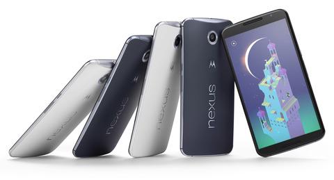 ワイモバイル、新型「Nexus 6」発売を発表 —国内で唯一の取扱い
