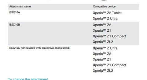 auが発表した「Xperia ZL2」はグローバルモデルも存在 —海外向けマニュアルに機種名記載