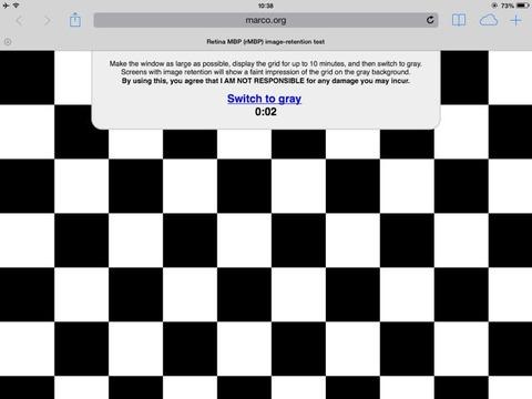 自分のiPadは大丈夫?「iPad mini Retina」の色ムラ・残像・黄ばみ問題、チェック方法とその対処法