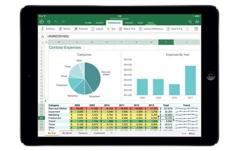 マイクロソフト、「Office for iPad」を発表 —日本向けは年内リリースか