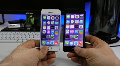 「iPhone6」4.7インチモデルで見るiOSはこうなる?デモ機動画登場