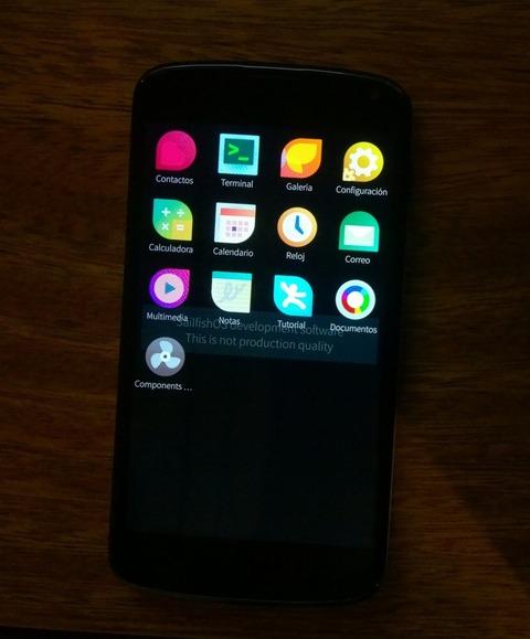 Jolla、Nexus 4向けに新OS「Sailfish」を公開