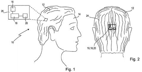 ソニーが高機能カツラ「スマートウィッグ」の特許を出願、カメラ・バイブ・ズレセンサーも搭載