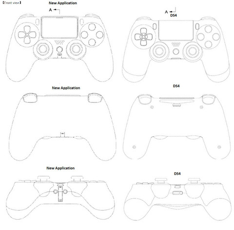 PS5のコントローラーの意匠登録情報が公開!PSボタンの下にマイク用の集音孔が追加される模様