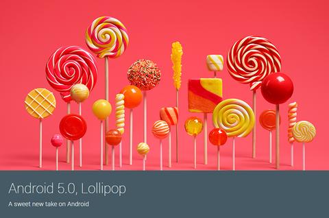 米グーグル、「Android 5.0 Lollipop」を発表 —「Nexus 5/7/10」にも近く配信