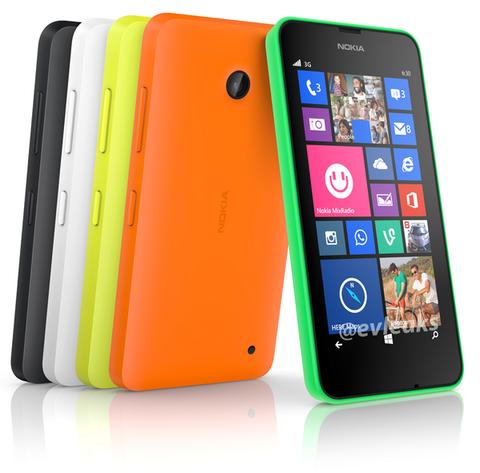 未発表Windows Phone「Lumia 630」のプレス画像が流出