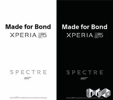 ソニー、次期「XperiaZ5」で映画「007 (Spectre)」とコラボか -プロモ素材画像が流出