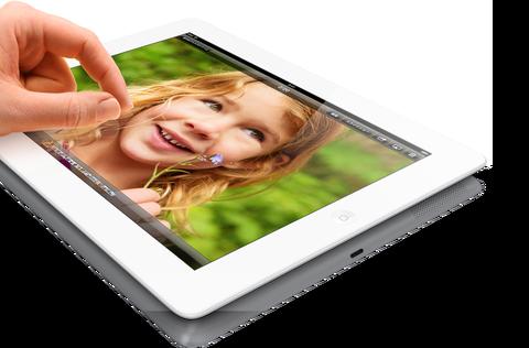 iPad Retinaディスプレイモデルが128GBに増量して2月5日新発売、価格はWi-Fiモデル6万6800円、Cellularモデル7万7800円