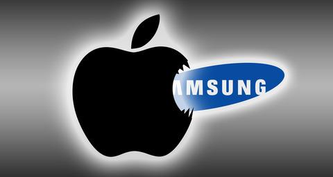 米アップル、スマホ世界シェアで韓国サムスンに逆転勝ち