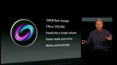 アップル、ハイブリッドドライブ「Fusion Drive」を発表--新iMacとMac miniで選択可能に
