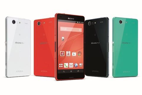 NTTドコモ、2014年冬・2015年春モデル発表 —「Xperia Z3/Z3 Compact」「Galaxy Note Edge」「Galaxy S5」など