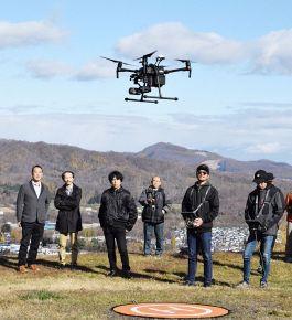北海道でドローンを用いてヒグマを発見する実証実験が始まる