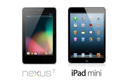 Retinaモデル発売寸前とも知らずにiPad miniが大ヒット国内販売でNexus7を抜く情弱情弱ぅ!