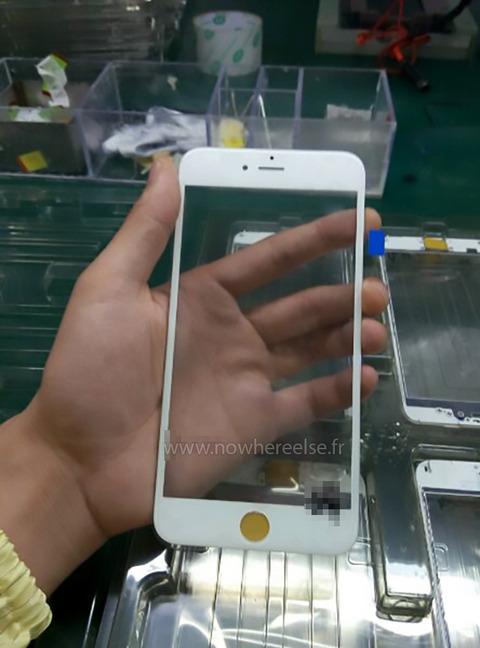次期「iPhone6s」のフロントパネル画像が流出、サファイアガラス・ForceTouchは実現されず?