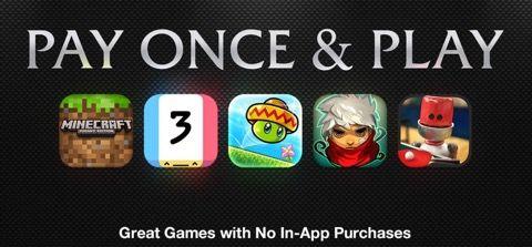 米アップル、海外で「買い切り、追加課金なし」のゲームアプリプロモを開始