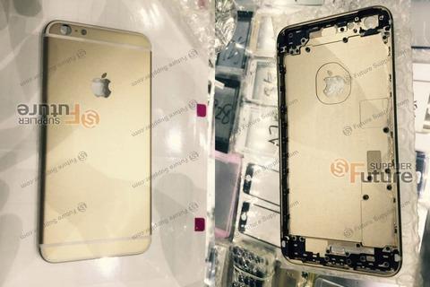 次期「iPhone6s Plus」ゴールドモデルの筐体画像が大量流出、デザインに変更なし