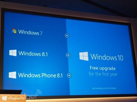 米マイクロソフト、7以降を対象に「Windows10」へのアップグレードを無償提供へ -1年限定