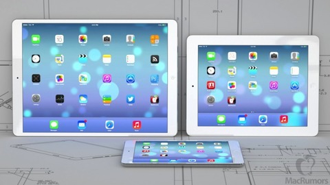 iPad 新Air・新mini retinaは2014年7月、大型12.9インチモデルは来年登場か —A8・Touch ID・8Mカメラなど