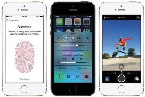 WSJ、iPhone5sは「一歩前進した最高のスマホ」と評価
