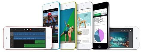 米アップル、ようやく「iPod touch」を刷新へ -第6世代は2015年に登場か