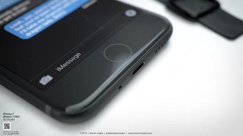 「iPhone 7」ホームボタンは静電容量式に、新色で2種類のブラックモデルを追加