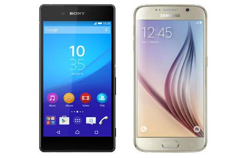 延長線上「Xperia Z4」vs デザイン一新「Galaxy S6」、Android勢の苦しい消耗戦