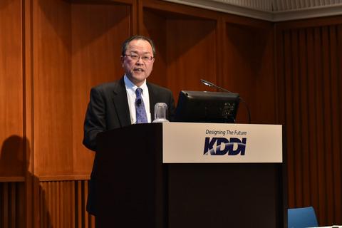 KDDI田中社長「実質0円廃止で2月の客数は大幅に減っている」