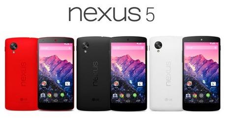 ワイモバイル、「Nexus 5」32GBモデルの価格を値下げ -新規・機種変4万1472円に