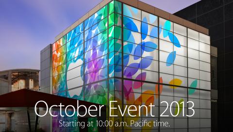 【タイムライン】アップルの新製品スペシャルイベント全貌2013年10月