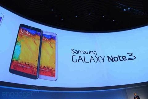 サムスン、Galaxy Note3を発表 —日本では10月発売