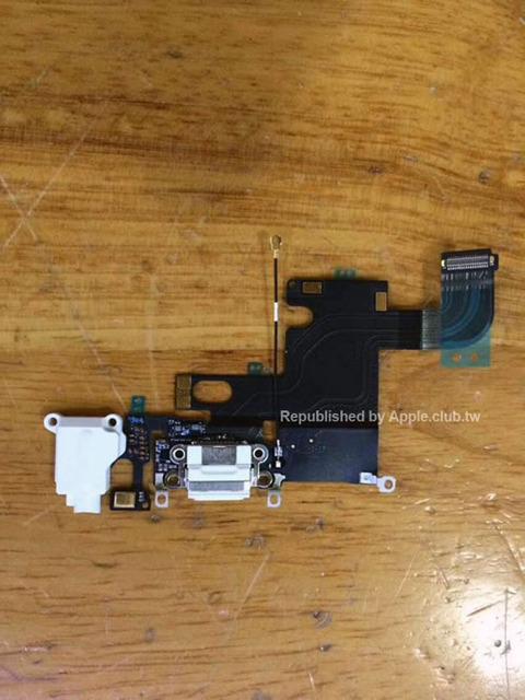 「iPhone6」の内部パーツ画像が流出、背面アップルロゴは光らない