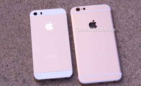 「iPhone6」実機の新たな背面の動画が登場、このデザインでほぼ確定