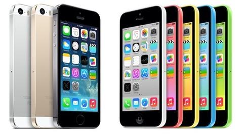 iPhone5s/5c、5を大幅に上回る販売台数を記録「3日間で900万台」