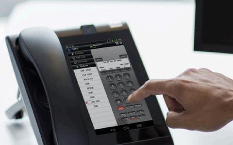 スマホ撤退のNEC、固定電話型Android「NEC UNIVERGE UT880」で復活