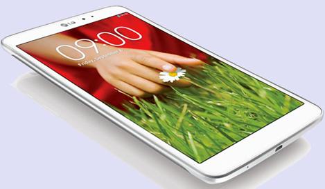 LG、野心作「G Pad 8.3」を14日から順次発売へ
