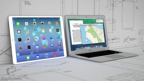米アップル、大型「iPad」の本格生産を来年に延期 —iPhone6フル稼働生産で余裕無く