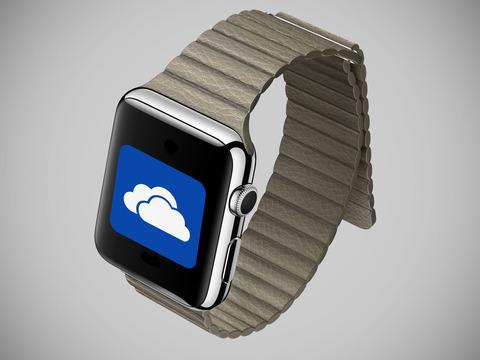米マイクロソフトの「OneDrive」がApple Watchに対応 -Watch対応アプリ続々登場