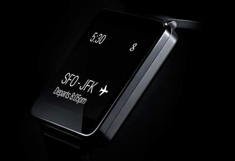 「LG G Watch」発表、2Qに登場予定 —「Android Wear」対応