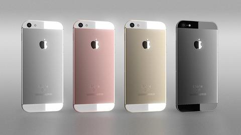 新型4インチ「iPhone 5se」のデザイン想像図、丸みを帯びたiPhone 5?