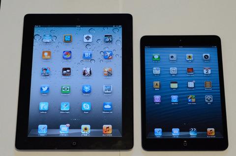 iPad miniは現状最も完成形に近いタブレット
